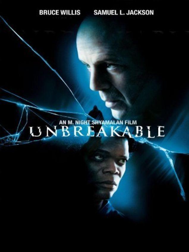 movie, unbreakable, and m. night shyamalan image