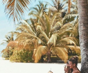 alone, amazing, and beach image