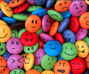 smarties, face, and sweet image