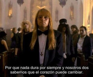 november rain, frases, and Guns N Roses image