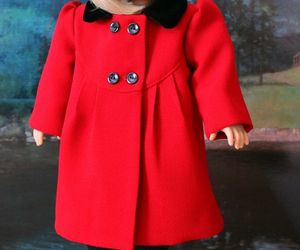 coat, doll clothes, and etsy image