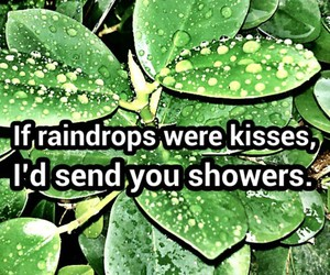 green, kisses, and leaves image
