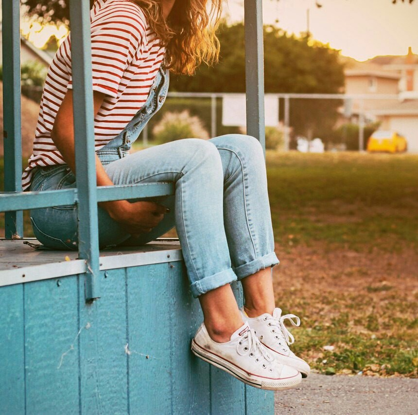 Image about summer in Converse by Lilja on We Heart It