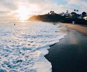 amazing, waves, and beach image
