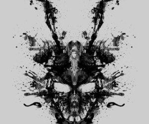 donnie darko and black and white image