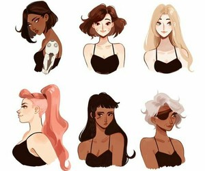 girls, cute, and overwatch image