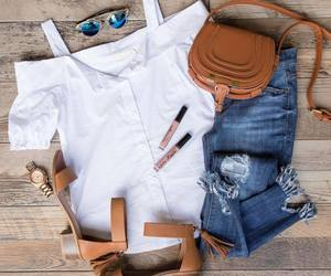 fashion, summer, and top image