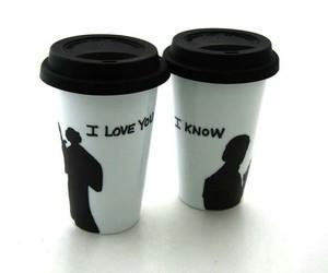 coffee, star wars, and love image