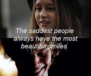 ahs, smile, and sad image