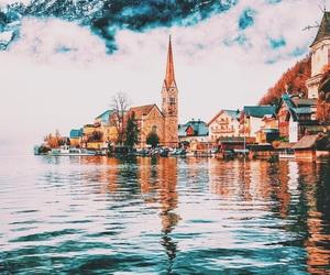 travel, austria, and mountains image
