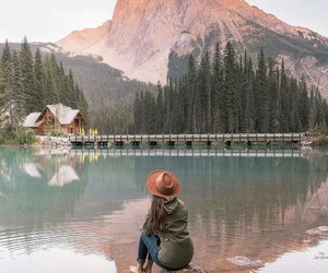 mountains, adventure, and travel image
