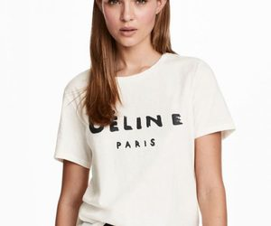 celine, clothes, and graphic image