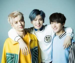 taeyang, hwiyoung, and sf9 image