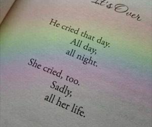 sad, book, and boy image