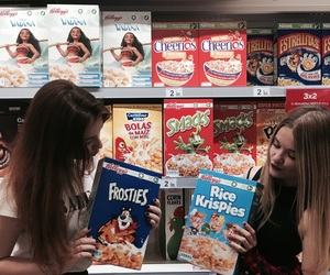 cereals, crazy, and girls image