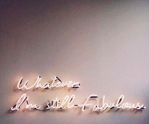 neon, quote, and sign image