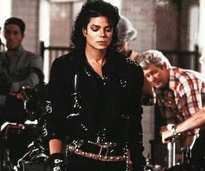 michael jackson and bad image