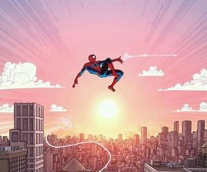 spiderman, fan art, and wallpaper image