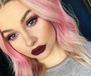 Dyed Hair Makeup And Mua Image