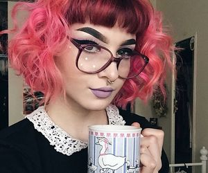 53 Images About Pink And Red Hair On We Heart It See More About