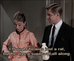 audrey hepburn, movie, and Breakfast at Tiffany's image