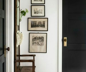 farmhouse, hallway, and home decor image