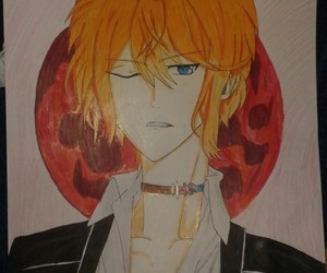 drawing, anime drawing, and diabolik lovers image