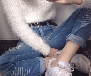 aesthetic, outfit, and grunge girl image