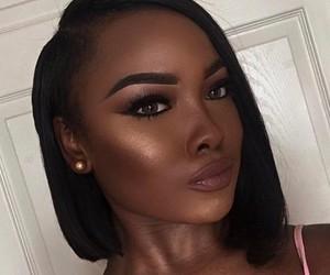 hair, skin, and makeup image