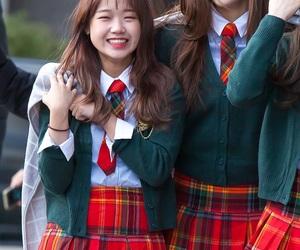 ioi, yoojung, and doyeon image
