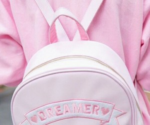 pink, dreamer, and pastel image
