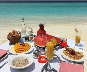 food and beach image