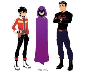keith, raven, and Voltron image