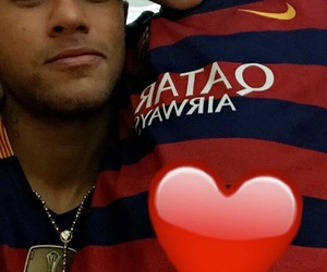 neymar, father, and son image