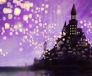 castle, rapunzel, and disney image