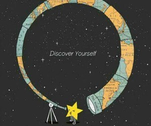 stars, discover, and yourself image