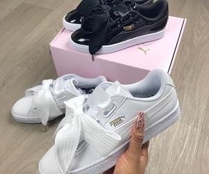 puma, shoes, and fashion image