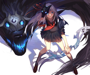 anime and league of legends image