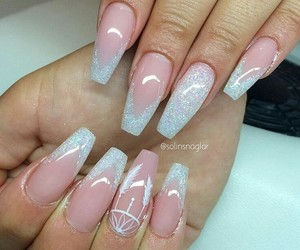 beauty, perfect nails, and perfect image