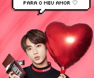 jin, bts, and amor image