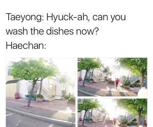 exo, taeyong, and kpop memes image
