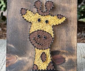 decor, diy, and giraffe image