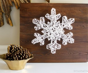decor, string art, and home image