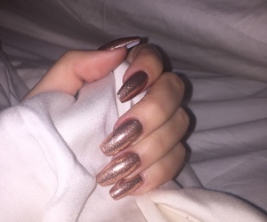 alternative, nails, and fashion image