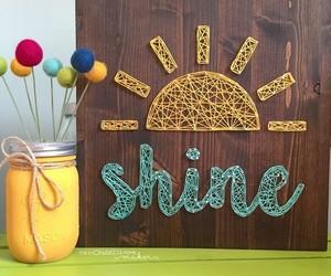 decor, inspirational, and sun image