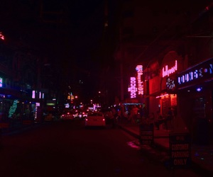 streets and neon lights image