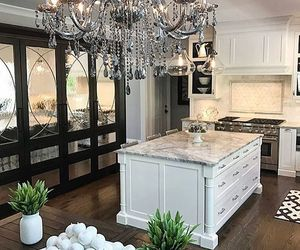 beautiful, homes, and kitchen image