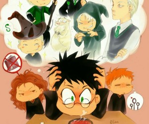 harry potter, draco malfoy, and drarry image