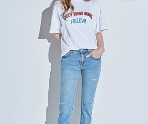 kfashion, korean model, and korean fashion image