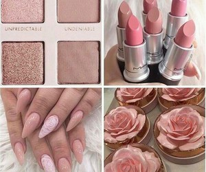 beauty, lux, and nails image